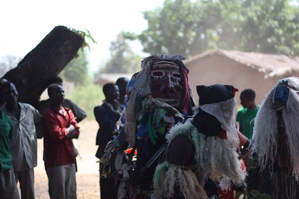 mask dancers