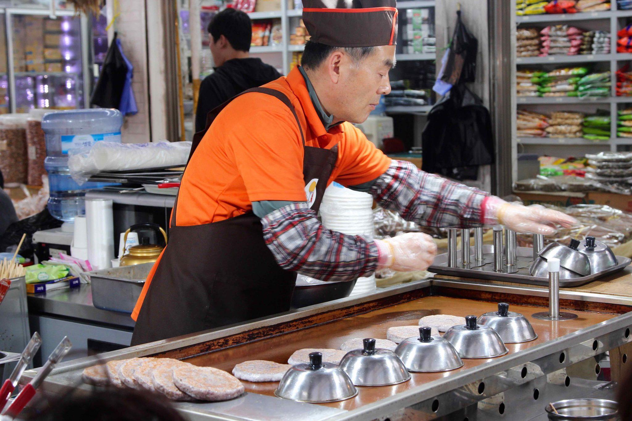 Streetfood trader