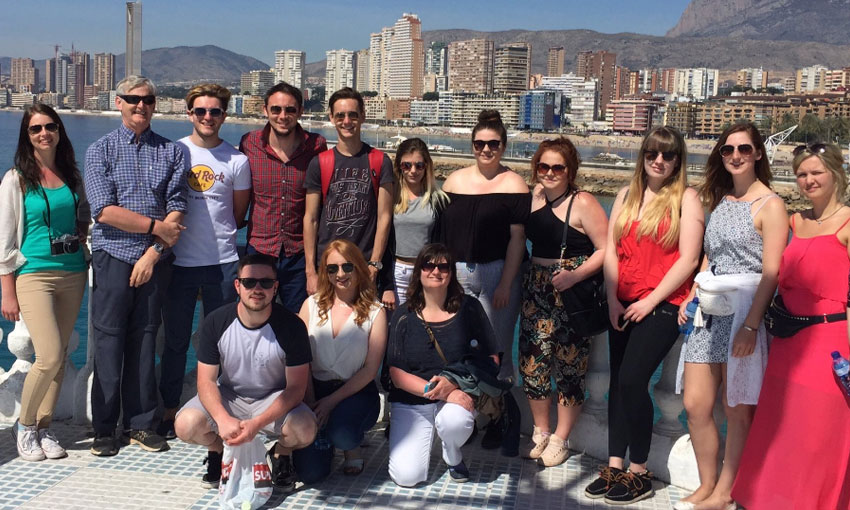 Alicante trip team photo