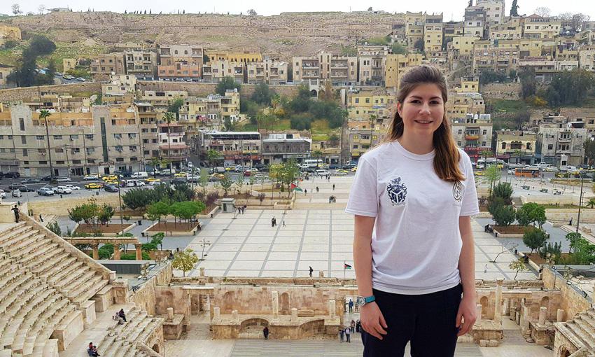 Rachael in Jordan