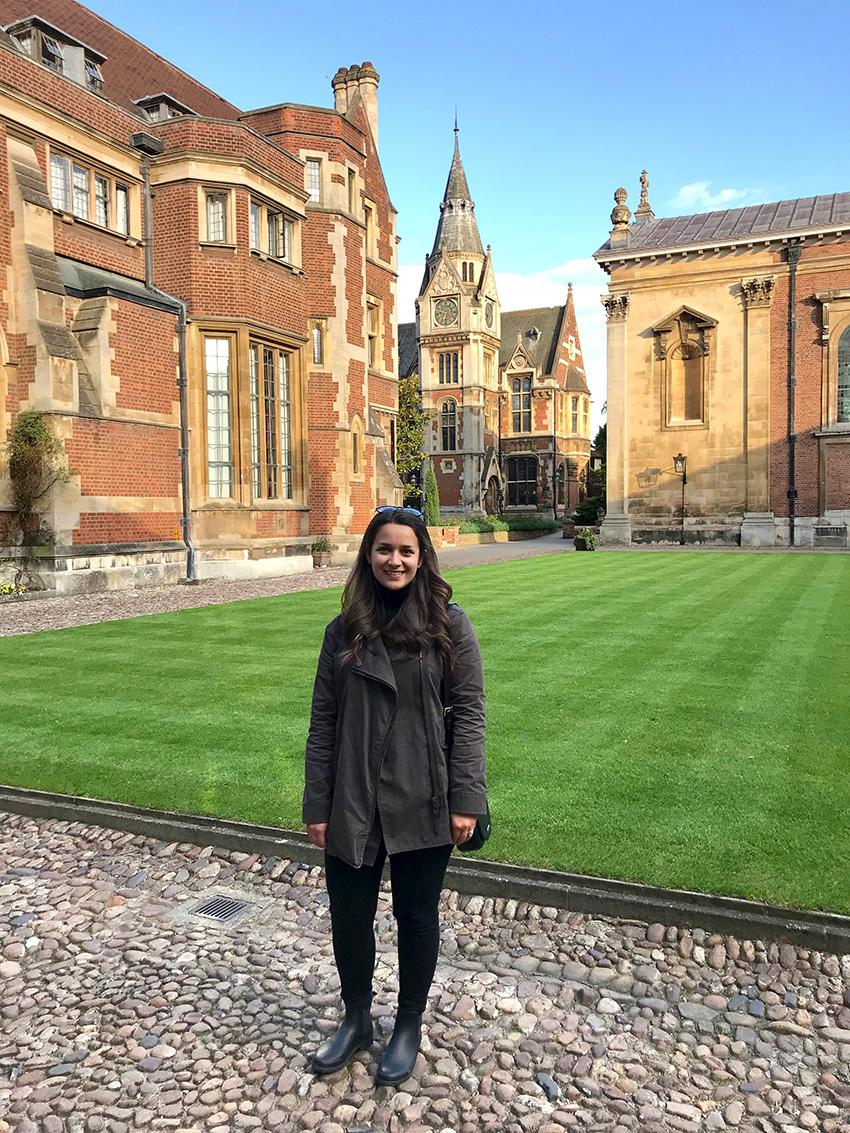 Tess in Cambridge