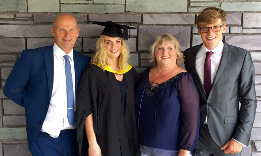 Abbie and family