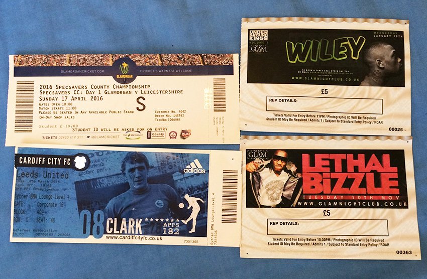 Ticket Stubs