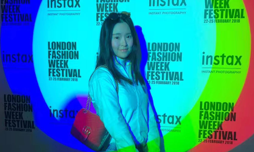 Crystal at London Fashion Week
