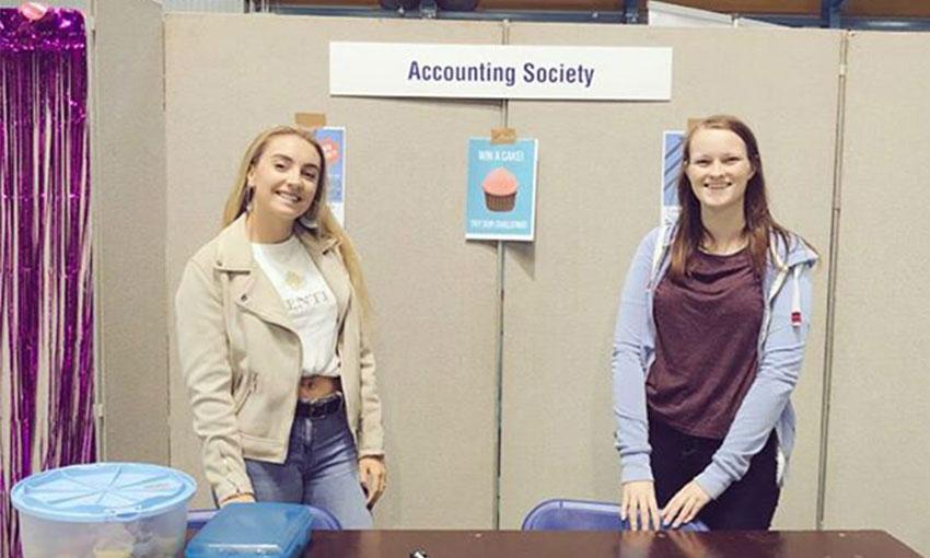 Image of Accounting Society members