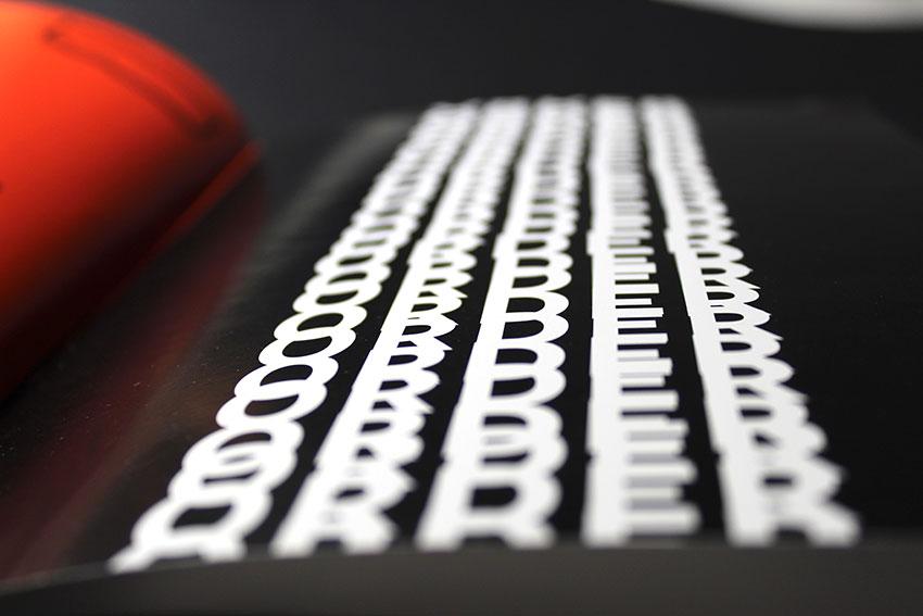 Tom's typography work