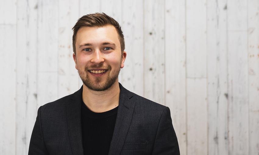 Ben Hofmeister smiling