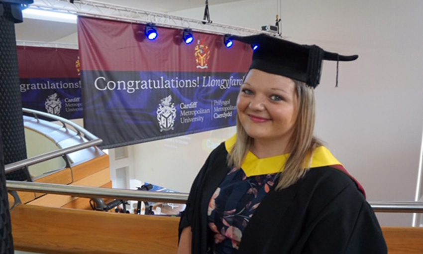 Hayley - Housing Studies graduate