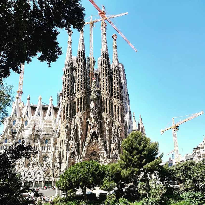 Image of the Sagrada Familia in Barcelona