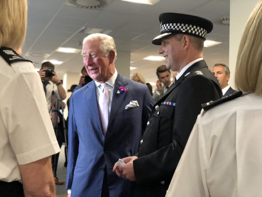 Prince Charles visit to SWP