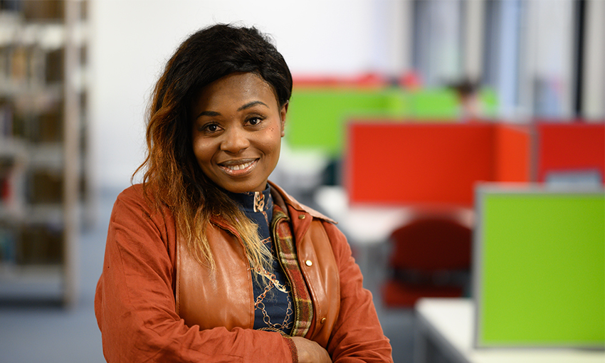 Esther BA (Hons) Youth and Community Work student