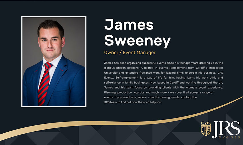 James Sweeney JRS Events