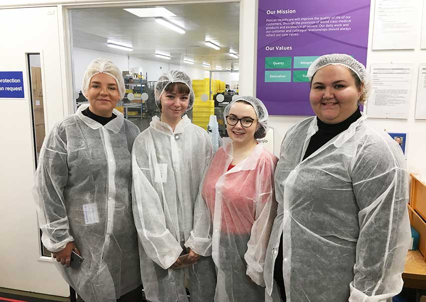 Visiting the Pelican Healthcare factory