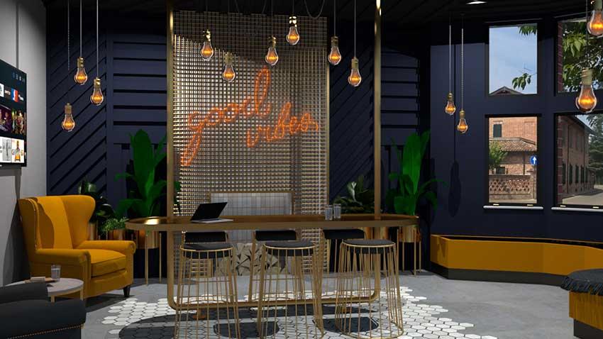 CGI dining room render by Jarret