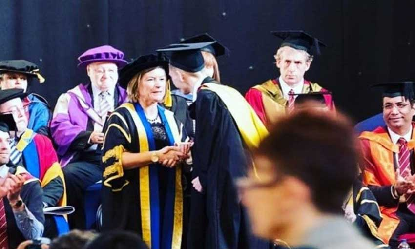 From a first degree in sport to 'best student' on the MSc hrm at Cardiff Met