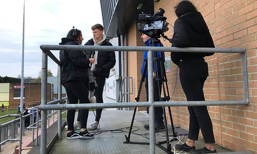 How MSc sport broadcast at Cardiff Met gave me a chance to learn from the no 1 world ranked media degree